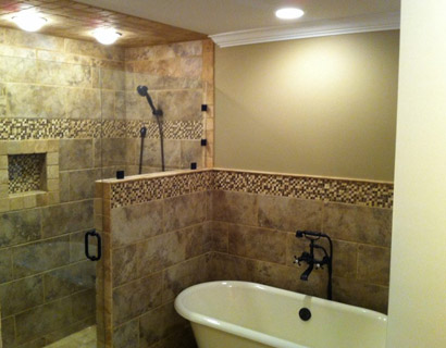 Birmingham custom bathroom contractor bathroom remodel for Bath remodel birmingham al